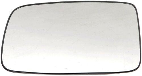 Fits 02-07 Mitsu Lancer Left Driver Mirror Glass Lens w// Adhesive
