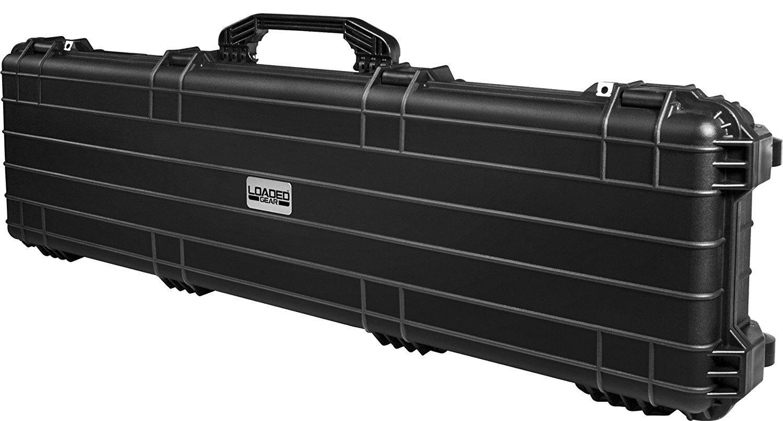 BARSKA Loaded Gear AX-500 Watertight Hard Rifle Case, 53-Inc
