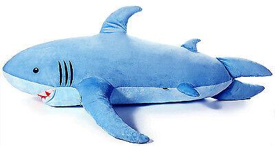 71  1 8M  Giant Huge Shark Stuffed Animal Plush Soft Toy Pillow Sofa Bean Bag