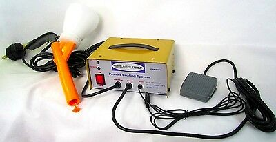 Powder Coating System 120 Volts Complete 10-30 PSI for vehicles home & shop!