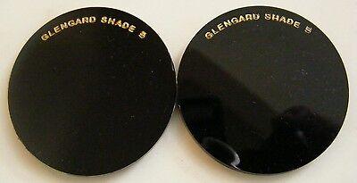 Vintage Glengard Irex 50mm Welding Filter Lenses Shade No.5