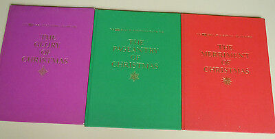 The Life Book of Christmas - Volume 1, 2, and 3 (Hardcover, 1963)