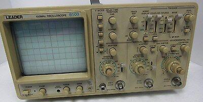 Leader 8103 100mhz Oscilloscope