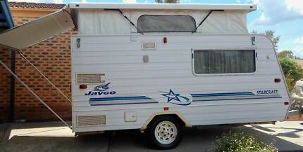Poptop caravan in good condition.