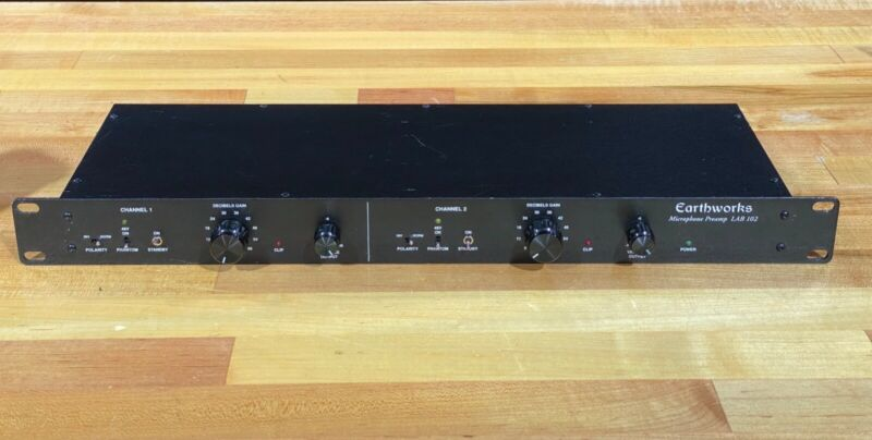 Earthworks LAB 102 2-channel Microphone Preamp Preamplifier