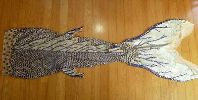 Mermaid Costume Accessories (Womens' M/L Purple Mermaid Tail and Seaweed Top/Accessories Set w/CUSTOM)