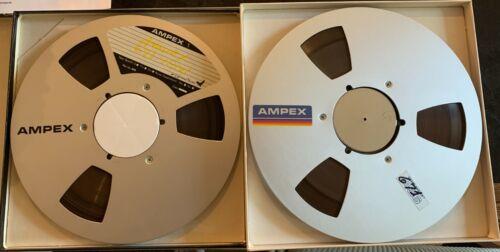"""Ampex 671 10.5"""" 1/4"""" Reel To Reel Audio Tape on Metal Reels - EACH"""
