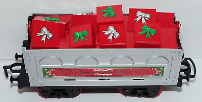 Christmas Gifts Freight Car from NORTH POLE JUNCTION Christmas Train Set