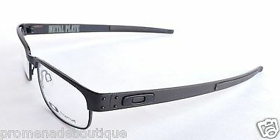 OAKLEY METAL PLATE 22-198 EYEGLASSES GLASSES OPTICAL EYE FRAME BLACK w/ Case