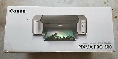 NEW & Sealed: Canon Pixma PRO-100 Digital Photo Color Printer FREE SHIPPING!