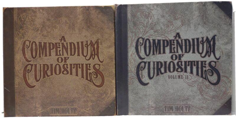 A COMPENDIUM OF CURIOSITIES Volume 1 and Volume II Tim Holtz Idea-Ology 2 Books
