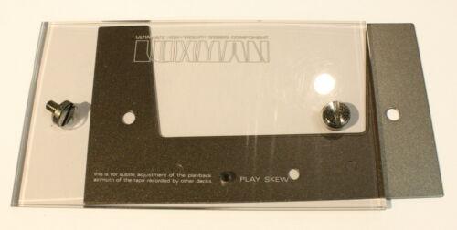 LUXMAN K-5A Well Cover-Vintage Cassette Deck