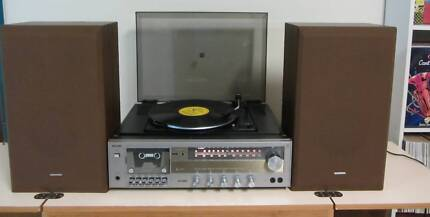 Turntable AMP & Speakers.Vintage East Brisbane Brisbane South East Preview