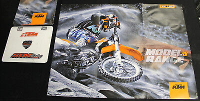 NEW OLD STOCK KTM 2013 MOTOCROSS OFFROAD DIRT BIKE POSTER MOTORCYCLE DIRTBIKE MX