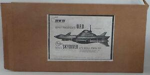 U.F.O : SHADO SKYDIVER MODEL KIT MADE BY MAXIMUM WARP MODELS MWM SCALE 1:72 1990