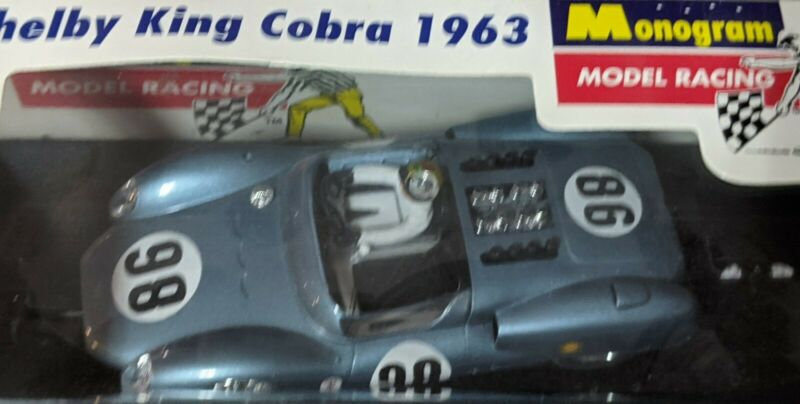 #98 Shelby King Cobra 1/32 SLOT Car Monogram new