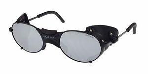 Julbo Drus Sunglasses, Matt Black, Leather Side Shields, Cat. 4 Lenses Brand New