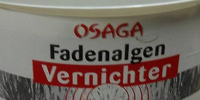 3. Kg Osaga-Fadenalgen Vernichter  Fadenalgenvernichter 3Kg 90.000Liter Algen .
