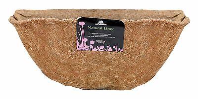 40cm Tom Chambers Natural Hayrack Liner - Plant Manger Basket & Trough Liner
