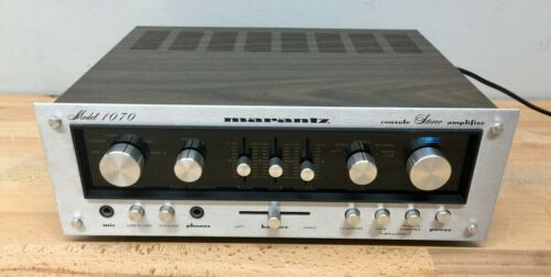 Marantz 1070 Stereo Console Amplifier - Tested/Serviced, Working. 35 WPC