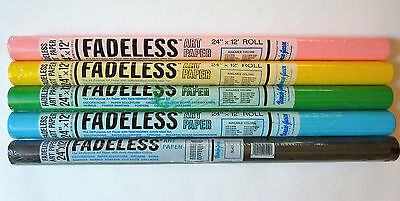 Fadeless Art Paper New Old Stock 24