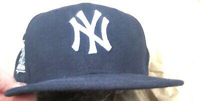 NYY Derek Jeter Final Game Yankees Baseball Hat size 7 1/4 Final Game Baseball