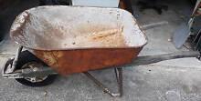 wheelbarrow ; old style ; heavy duty; solid rubber wheel Beverley Park Kogarah Area Preview