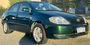 2002 Toyota Corolla ZZE122R Conquest Green 4 Speed Automatic Sedan Malaga Swan Area Preview