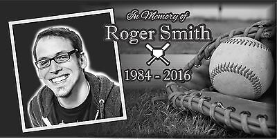 Personalized human Stone Memorial Plaque 6