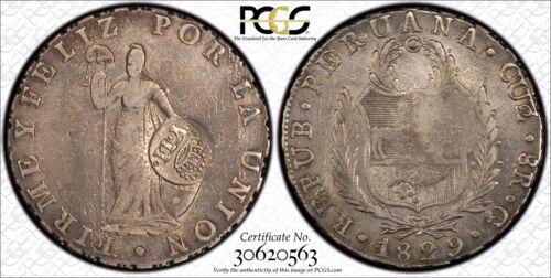1829 Peru Cuzco 8 reales 1834 Spanish Philippines Countermark YII counterstamp