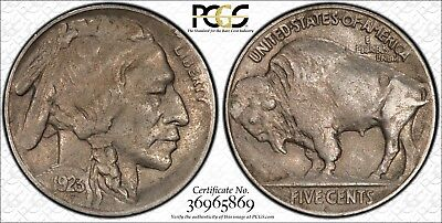 1923 S BUFFALO NICKEL PCGS XF 45 SOFT EVEN PEWTER CLEAN AND WELL STRUCK KEY DATE