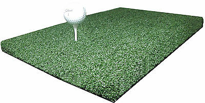 "12"" x 24"" A Golf Chipping Driving Range Practice Hitting Mat Holds A Wooden Tee"