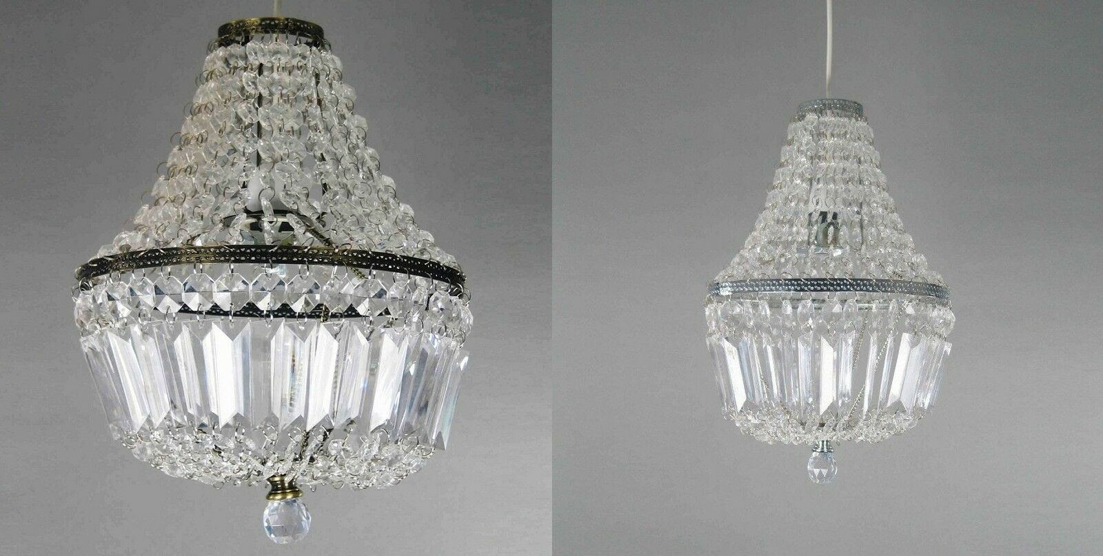 clear acrylic beaded lucille drop pendant ceiling