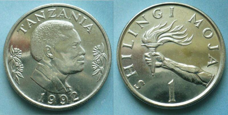 Tanzania 1992 1 Shilling Uncirculated (KM22)