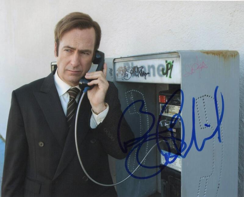 BOB ODENKIRK SIGNED 8X10 PHOTO AUTHENTIC AUTOGRAPH BREAKING BETTER CALL SAUL H