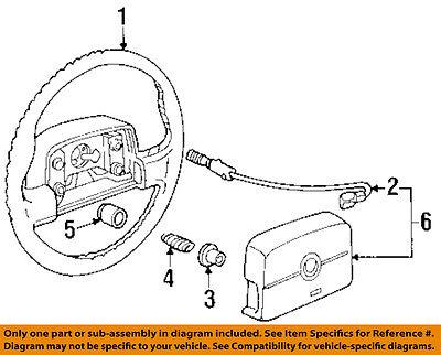 Cadillac GM OEM 94-95 Eldorado-Steering Wheel 16756336