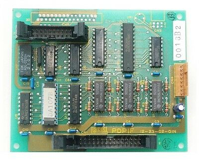 Hitachi Seiki 12-23-02-01n Video Interface Board For Oki Plasma Display Pz7