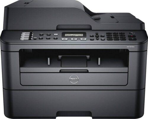 DELL E515dw Wireless Laser printer MFP copy fax scan low count NO TONER/ NO DRUM