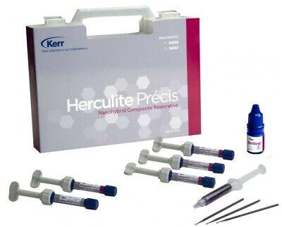 Kerr Herculite Precis Nano Hybrid Dental Composite Resin Kit Free Shipping