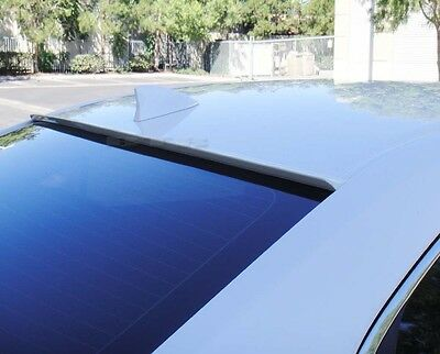 White Color Painted For 2014-2018 MAZDA 3-Rear Window Roof Spoiler