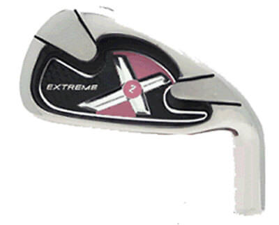 WOMENS PINK EXTREME X2 IRONS Golf Clubs 4-SW Graphite Ladies Taylor Fit FULL Set for sale  Shipping to Canada