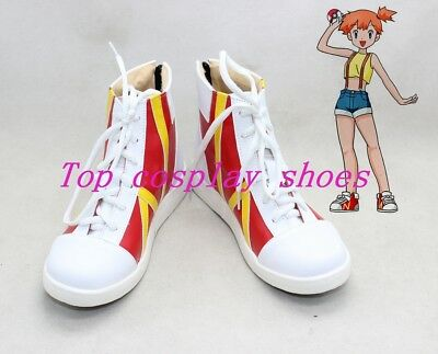 Misty Cosplay Shoes (Misty Cosplay Shoes Boots Halloween Christmas Party)