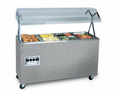 "Vollrath 38945604 Affordable Portable™ 60"" (4) Well Hot Food Station 120v"