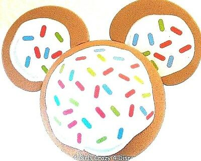 DISNEY MICKEY CHRISTMAS COOKIE SPRINKLES ICING  Antenna Topper BALL OR PENCIL ()