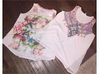 2 F&F vest tops. Size 14 £5