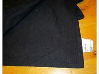 Ikea Forsytia bedspread in black