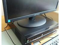 STONE PC DESKTOP 4GB RAM BLACK WITH MONITOR AND KEYBOARD + MOUSE