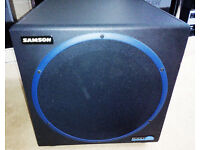 Sansom Resolv 120a Active 120w sub woofer 10inch driver