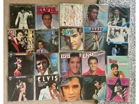 Big ELVIS Presley collection of original vinyl albums pick up Leeds or can post see advert