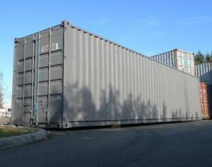 40 Ft Damaged High-Cube Shipping Container